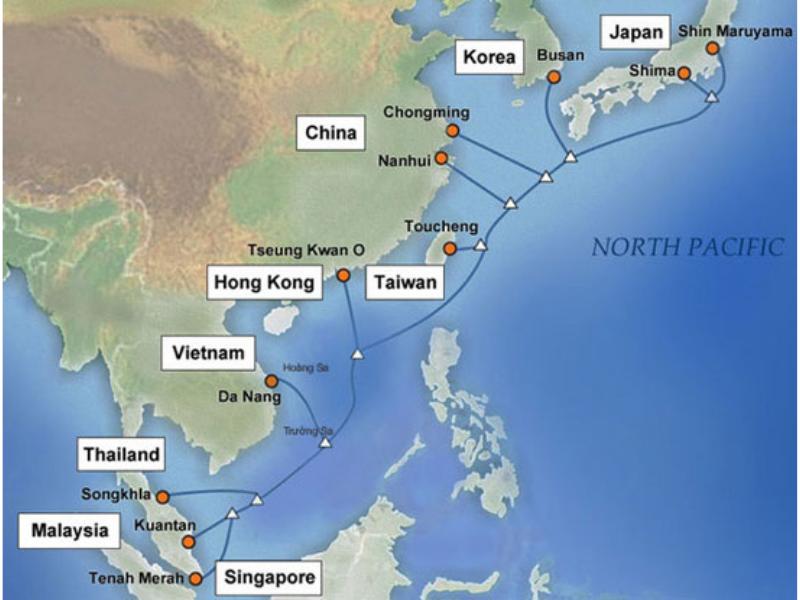 Tuyến cáp quang biển quốc tế APG được đưa vào vận hành chính thức, phục vụ khách hàng từ giữa tháng 12/2016
