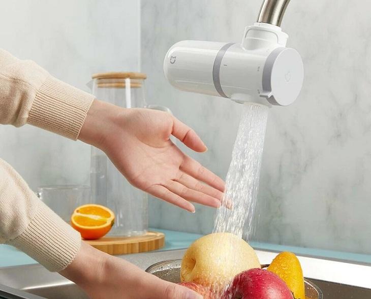 Máy lọc nước lắp tại vòi