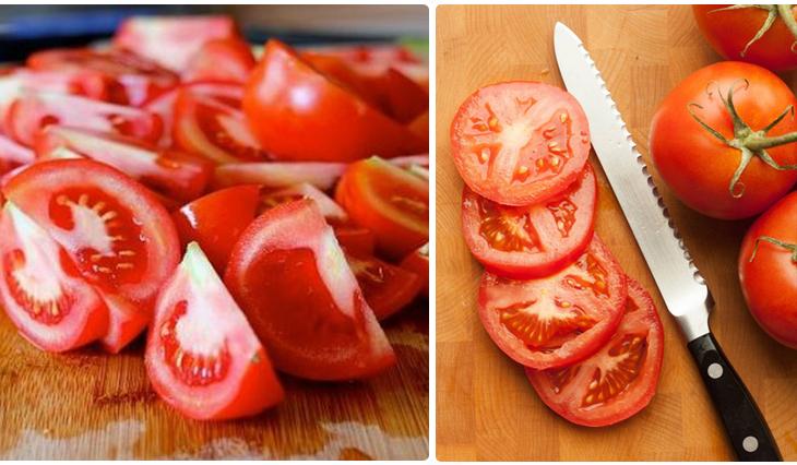 Bước 2 Sơ chế nguyên liệu Sườn sốt cà chua