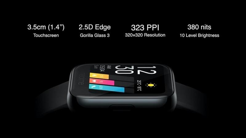 Realme Watch trình làng: Thiết kế đẹp như Apple Watch, đo nhịp tim thời gian thực, đo lượng oxy trong máu… nhưng giá chỉ 1.2 triệu đồng