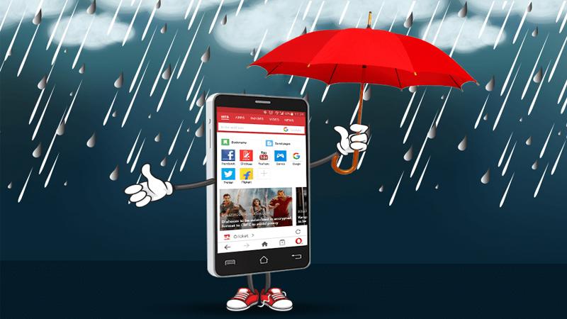 Bảo vệ smartphone trong mùa mưa bão