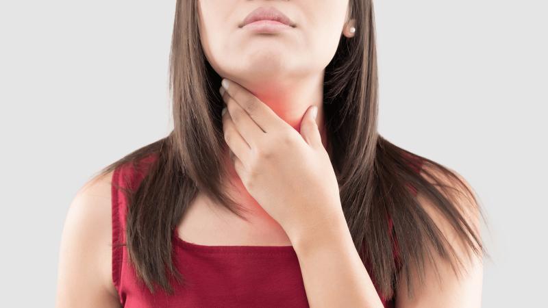Tăng nguy cơ bị sốt, viêm họng
