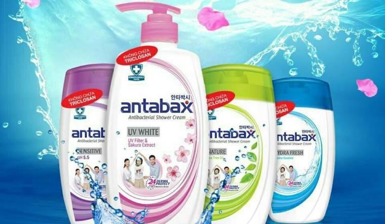 Sữa tắm Antabax có mấy loại, công dụng của từng loại thế nào?
