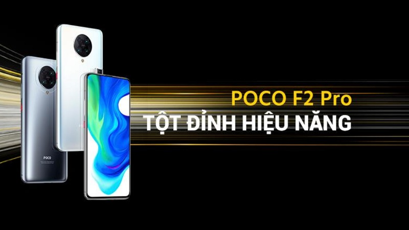 Poco F2 Pro chính thức ra mắt tại Việt Nam
