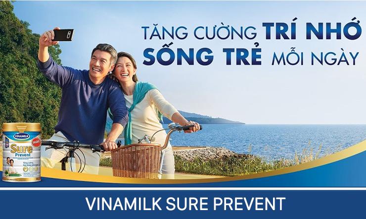 Sữa bột Vinamilk Sure Prevent dành cho đối tượng nào?