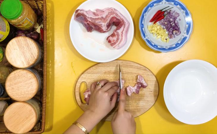 cắt thịt heo