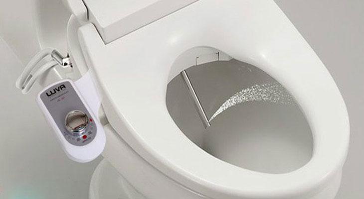 Vòi xịt vệ sinh thông minh