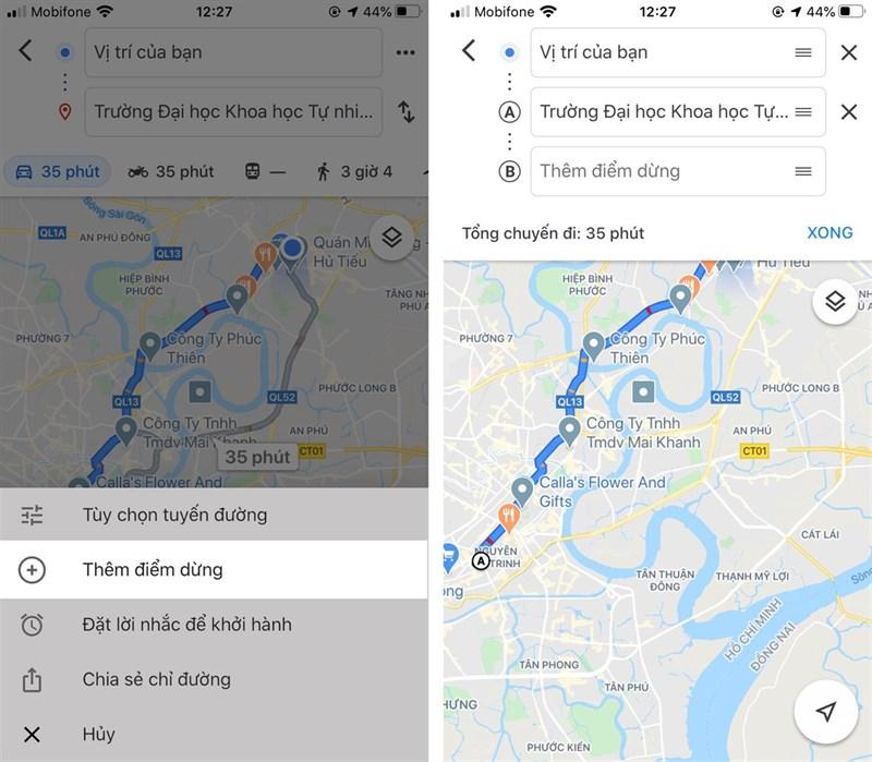 Tính năng ẩn trên Google Maps
