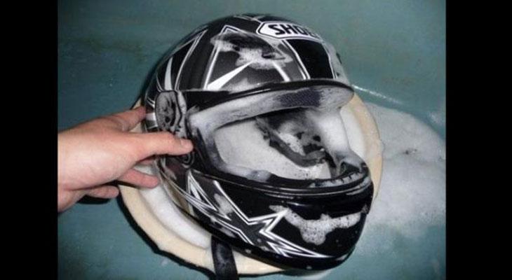Cách bảo quản nón bảo hiểm đúng cách.