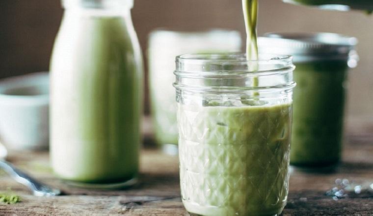 Cách thực hiện món bột trà xanh sữa giảm cân