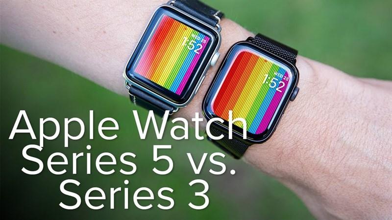 Apple Watch S3 Vs Apple Watch S5