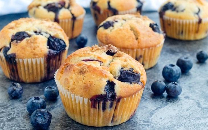 Một số loại bánh muffin