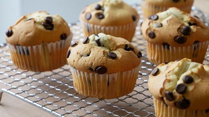 Bánh muffin - bánh mì ngọt làm nhanh