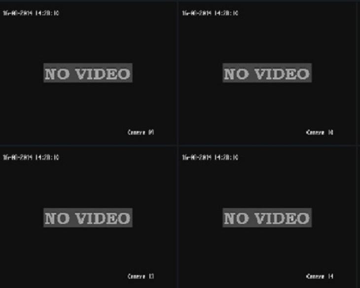 Camera mất tín hiệu từ màn hình quan sát