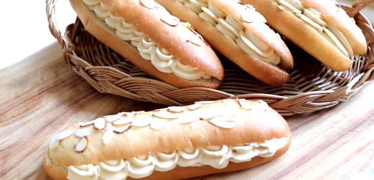 Cách làm bánh mì bơ cà phê thơm ngon, mềm mịn đơn giản cho buổi sáng
