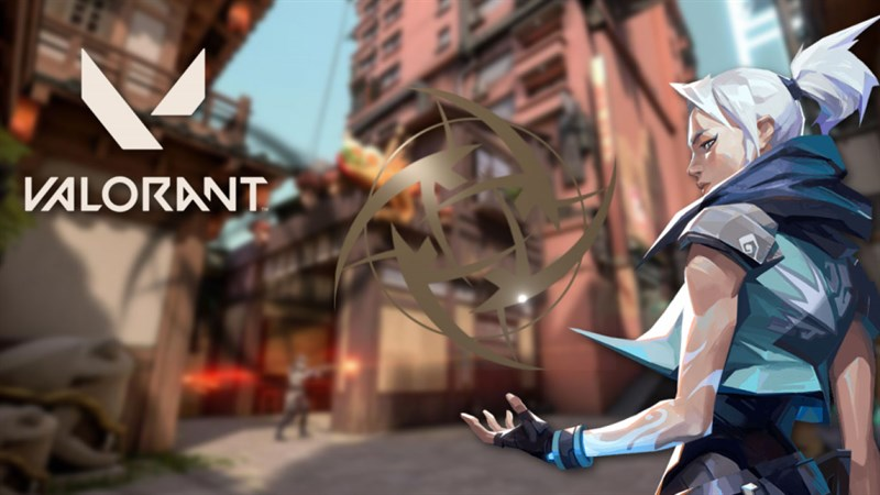 giao diện chính của tựa game Valoriant