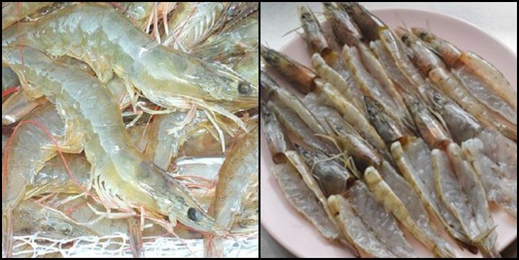 Bước 1 Sơ chế hải sản Nấm nướng giấy bạc hải sản