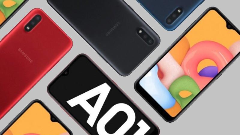 Samsung Galaxy M01 ra mắt: Camera kép, pin 4000 mAh, hỗ trợ công nghệ âm thanh Dolby Atmos, giá 2.7 triệu đồng