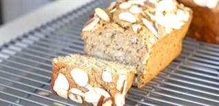 Cách làm bánh mì chuối sữa chua yến mạch giàu canxi thơm ngon bổ dưỡng cho chế độ eatclean