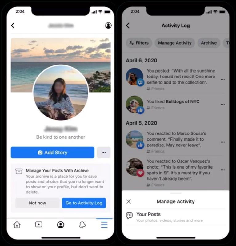 Cách mới xóa bài đăng cũ khỏi Facebook