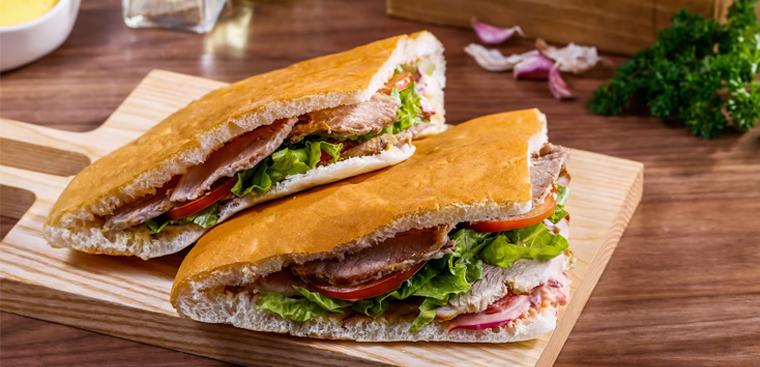 Cách làm bánh mì tam giác Thổ Nhĩ Kỹ - Doner Kebab thơm ngon, hấp dẫn