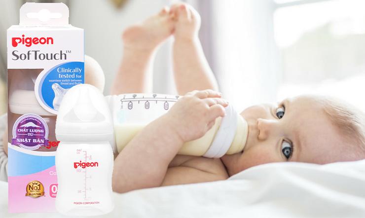 Bình sữa Pigeon có tốt không? Có nên mua bình sữa Pigeon cho con không?