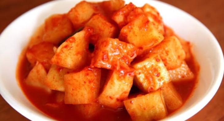 Bước 3 Thành phẩm Kim chi củ cải chay