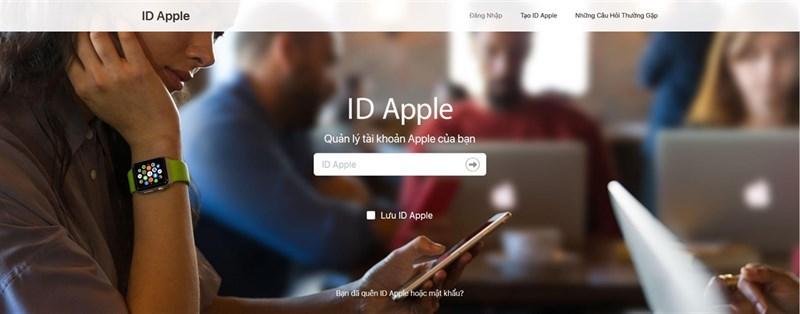 Cách lấy lại mật khẩu iCloud