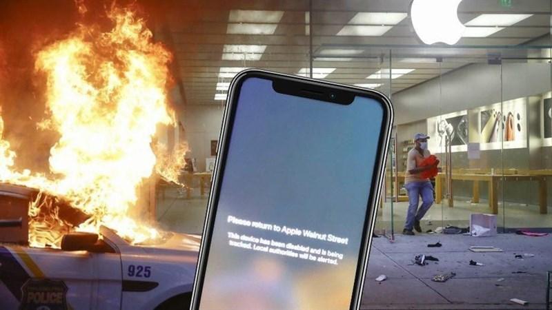 Apple khiến những tên cướp điêu đứng, iPhone lấy được bị vô hiệu hóa và theo dõi vị trí, yêu cầu trả lại nếu không phải ngồi tù