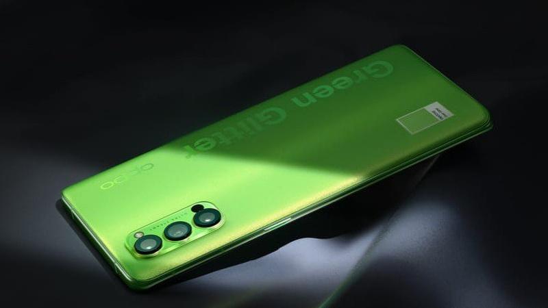OPPO Reno4 Pro Pantone Summer Green