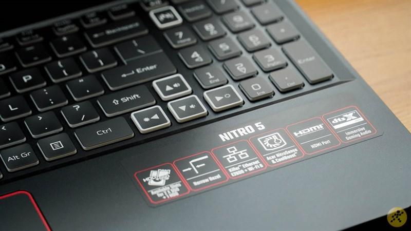Thông số phần cứng của Acer Nitro 5