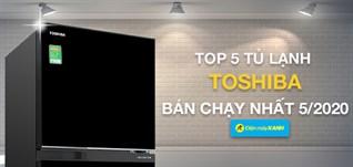 Top 5 Tủ lạnh Toshiba bán chạy nhất tháng 05/2020 tại Điện máy XANH