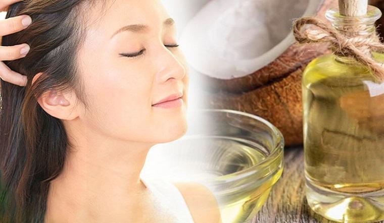 Công dụng của việc ủ tóc bằng dầu dừa
