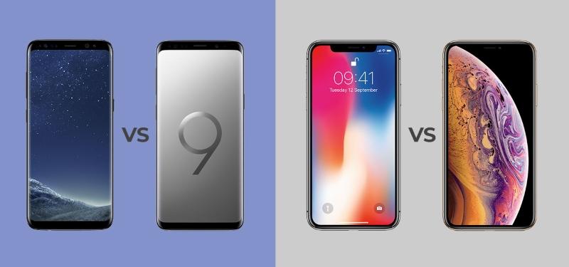 điện thoại mới vs điện thoại cũ