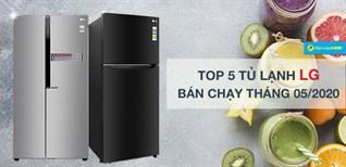 Top 5 tủ lạnh LG bán chạy nhất tháng 05/2020 tại Điện máy XANH