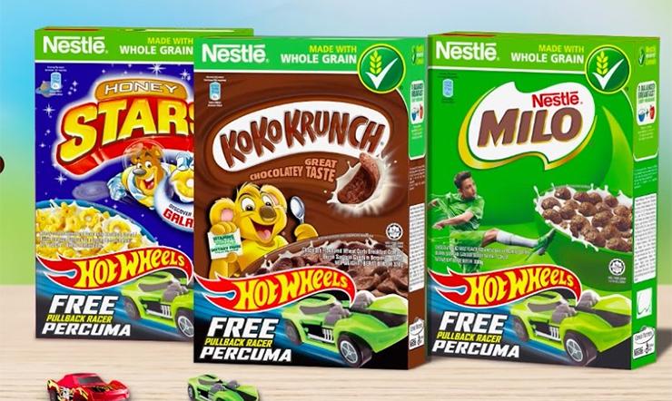 Ngũ cốc Nestlé có các loại nào? Giá bao nhiêu?