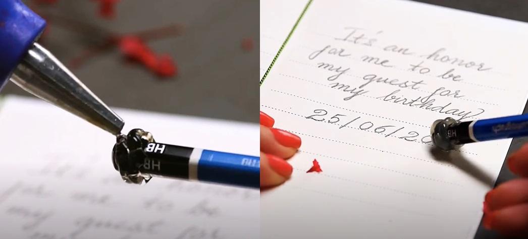 Làm tẩy (gôm) bút chì
