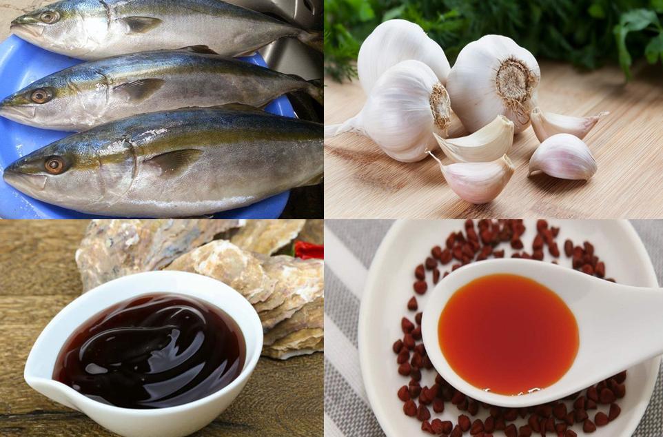 nguyên liệu làm cá cam nướng giấy bạc