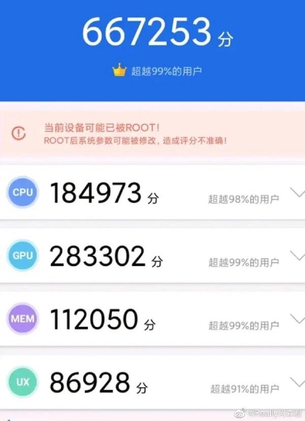 Snapdragon 865 Plus đạt điểm hiệu năng khủng trên AnTuTu, cao hơn nhiều so với chip Snapdragon 865
