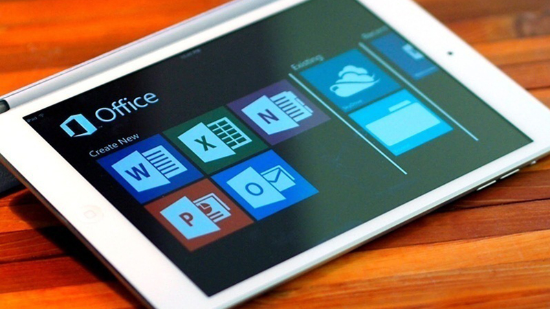 iPad chạy office