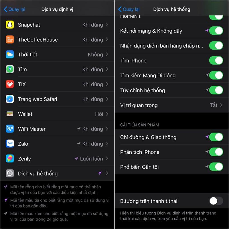 Đây là những tính năng hay nên tắt trên iPhone