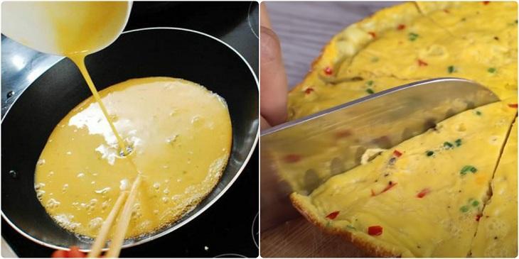 Bước 2 Chiên trứng Trứng chiên nước mắm