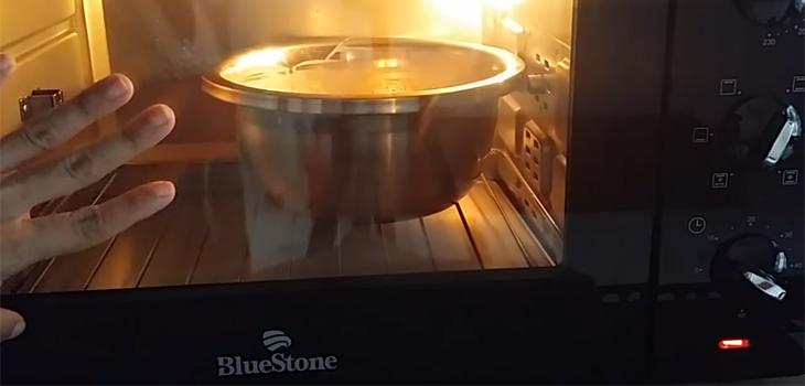 Bước 4 Ủ bột Bánh bò lá dứa