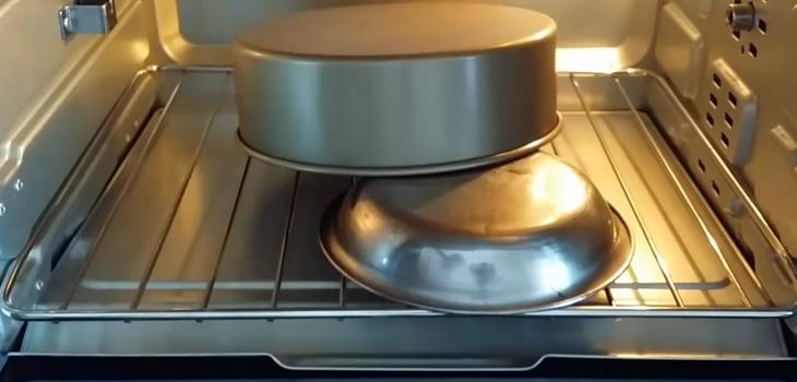 Bước 7 Nướng bánh Bánh bò lá dứa