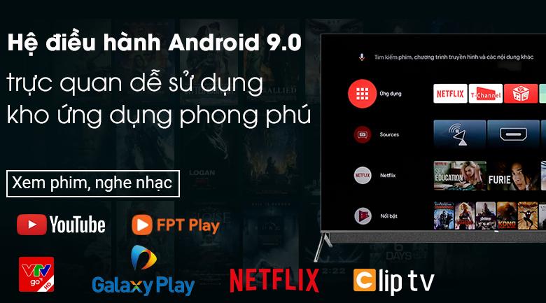 Android bản quyền 9.0