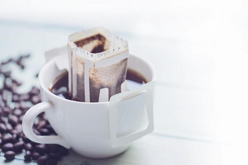 Cà phê phin giấy Nón Lá