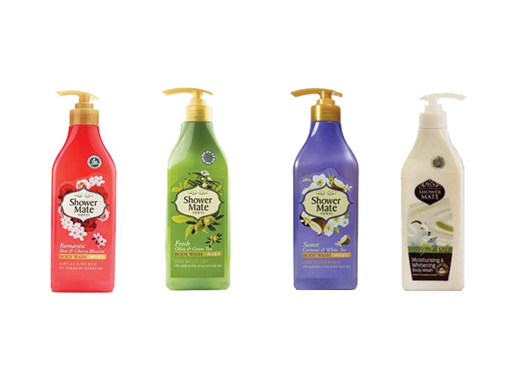Giới thiệu sữa tắm Shower Mate và công dụng của từng loại