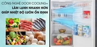 Top 4 tủ lạnh LG có tính năng làm lạnh từ cửa tủ DoorCooling+ giá rẻ dưới 8.5 triệu