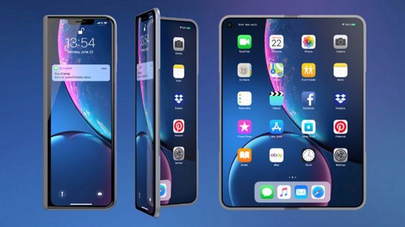 iPhone màn hình gập