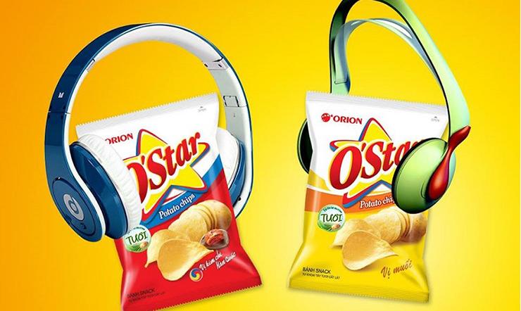 Snack khoai tây O'star loại snack khoai tay ngon nức lòng giới trẻ
